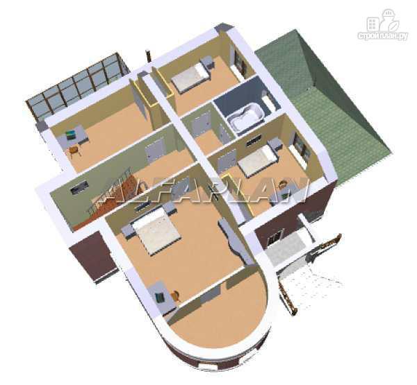 Фото 5: проект «Альтбург» - коттедж в романтическом стиле