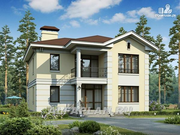 """Фото: проект """"Репутация"""" - дом с аристократическими фасадами и отличной планировкой"""