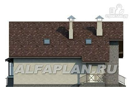 Фото 7: проект коттедж с компактным планом и рациональной планировкой