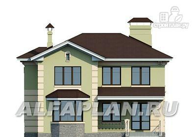 """Фото 6: проект """"Репутация"""" - дом с аристократическими фасадами и отличной планировкой"""