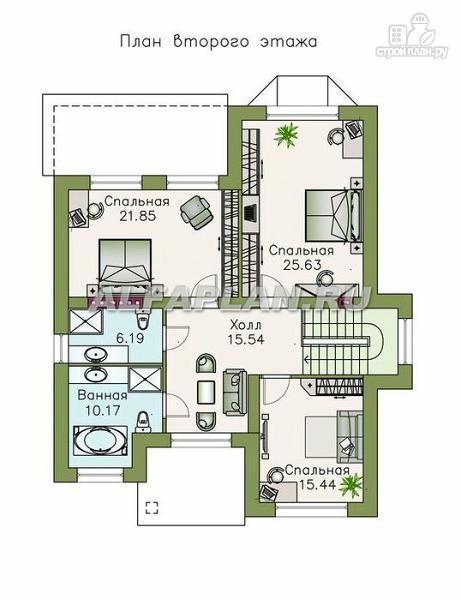 """Фото 3: проект """"Репутация"""" - дом с аристократическими фасадами и отличной планировкой"""