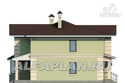 """Фото 7: проект """"Репутация"""" - дом с аристократическими фасадами и отличной планировкой"""