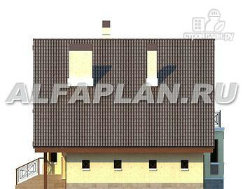"""Фото 8: проект """"Регенсбург Плюс"""" - вариант коттеджа """"Регенсбург"""" с цокольным этажом"""