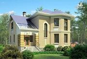 Фото: «Ювенил» - двухэтажный загородный дом