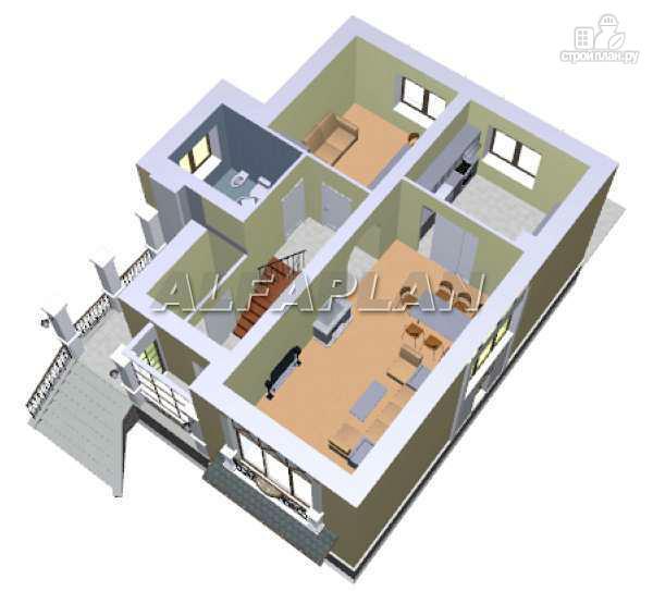 """Фото 5: проект """"Индиго"""" - дом, в котором все есть"""