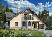 Фото: дом-шале с комфортной планировкой