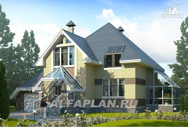 Фото: проект дом с окнами в небо