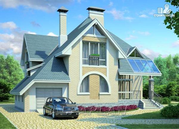 Фото 10: проект загородный дом с компактным планом