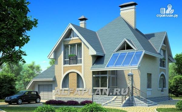 Фото: проект загородный дом с компактным планом