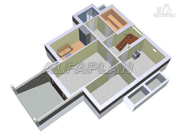 Фото 3: проект «Дом светлячка» - трехэтажный дом с мансардой