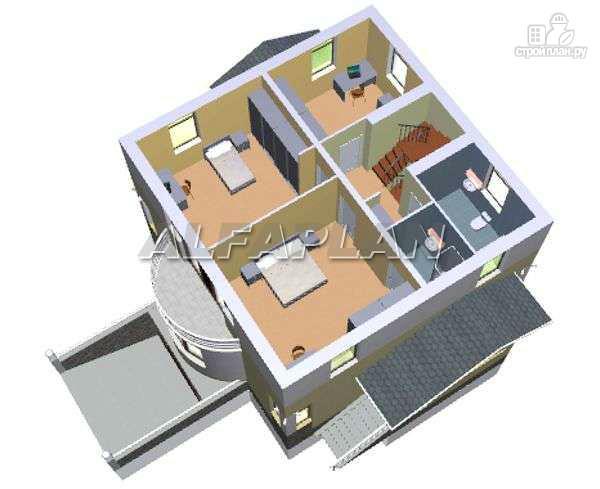 Фото 7: проект «Дом светлячка» - трехэтажный дом с мансардой