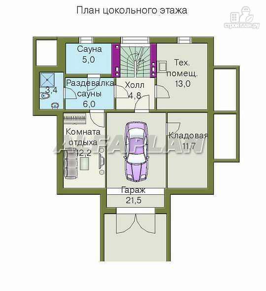 Фото 2: проект «Дом светлячка» - трехэтажный дом с мансардой