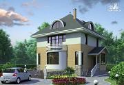 Фото: «Дом светлячка» - трехэтажный дом с мансардой