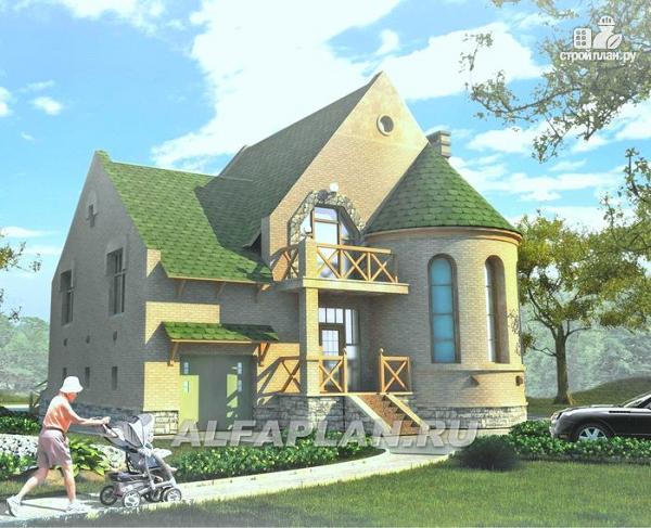 Фото: проект «Онегин» - представительный загородный дом