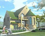 Фото: «Онегин» - представительный загородный дом