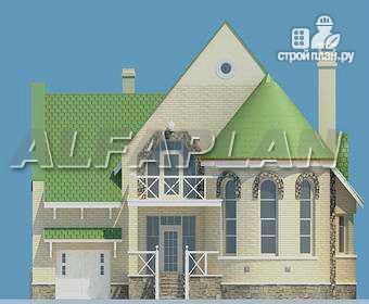 Фото 6: проект «Онегин» - представительный загородный дом