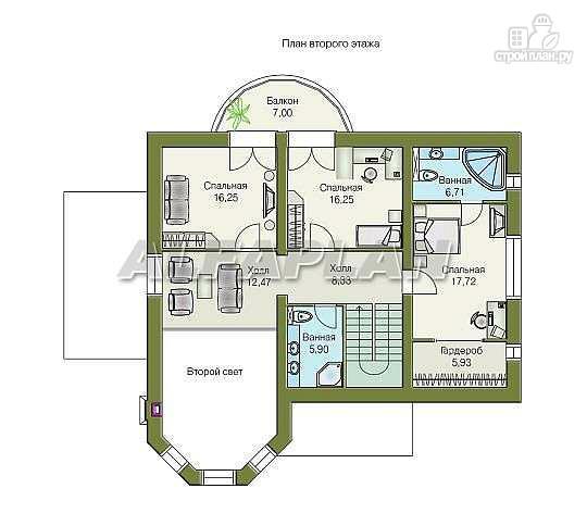 Фото 4: проект «Суперстилиса» - проект дома с комфортной планировкой