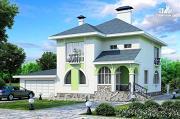 """Проект """"Палома"""" - респектабельный особняк с большим гаражом"""