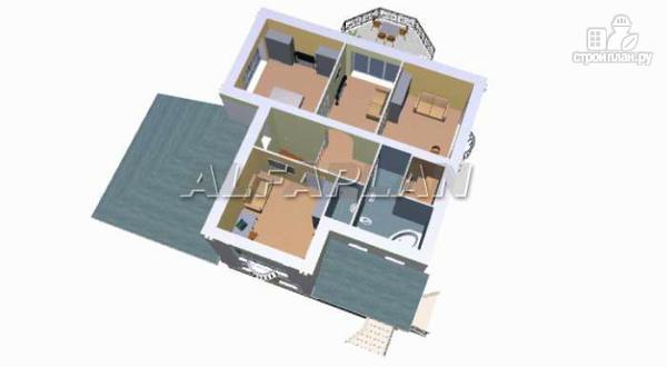 """Фото 5: проект """"Палома"""" - респектабельный особняк с большим гаражом"""