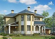 """Проект """"Модус Вивенди""""- двухэтажный загородный дом с гаражом"""