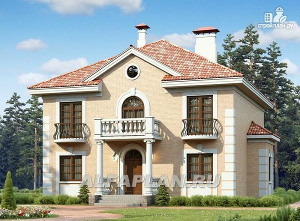"Фото: проект ""Апраксин"" - компактный дом с аристократическим характером"