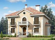"Фото: ""Апраксин"" - компактный дом с аристократическим характером"