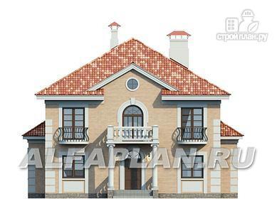 "Фото 6: проект ""Апраксин"" - компактный дом с аристократическим характером"