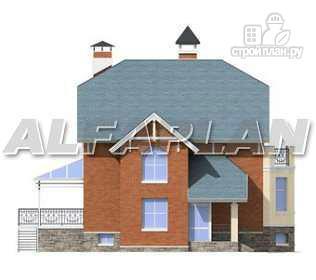 """Фото 11: проект """"Лаура""""- трехэтажный загородный дом с террасой"""