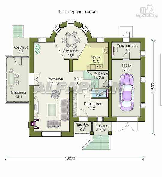 Фото 2: проект «Суперстилиса» - удобный дом с рациональной планировкой