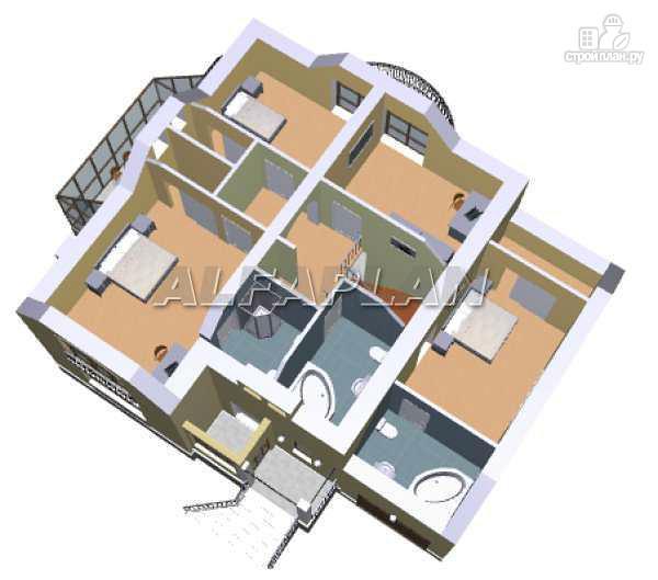 Фото 5: проект «Суперстилиса» - удобный дом с рациональной планировкой
