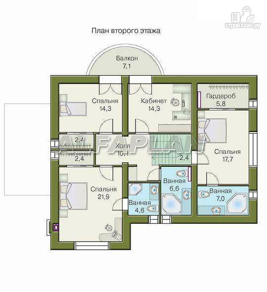 Фото 4: проект «Суперстилиса» - удобный дом с рациональной планировкой