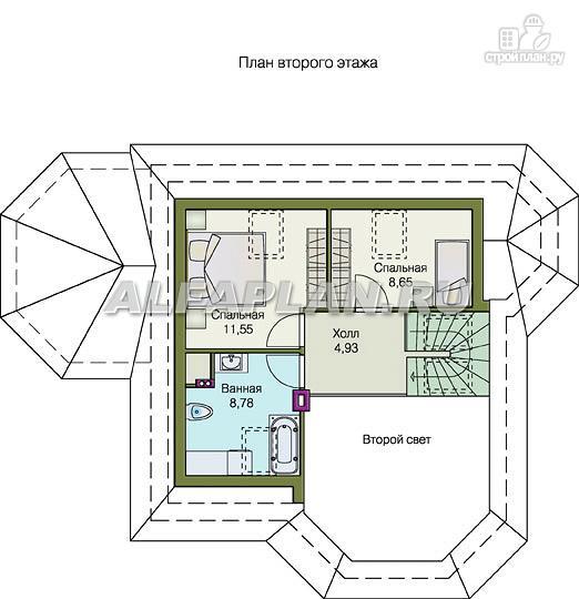 """Фото 4: проект """"Душечка"""" - удобный дом для жизни и отдыха"""