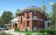Проект «Ювенил» - загородный дом с большим гаражом