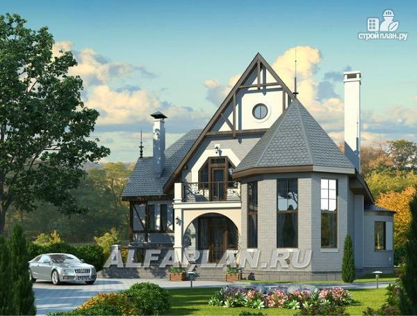 """Фото 10: проект """"Пенаты"""" - дом с богатой живописной архитектурой"""