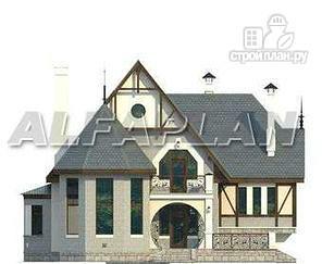 """Фото 6: проект """"Пенаты"""" - дом с богатой живописной архитектурой"""