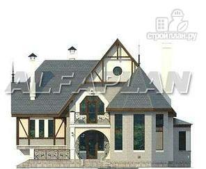 """Фото 5: проект """"Пенаты"""" - дом с богатой живописной архитектурой"""