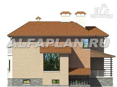 Фото 8: проект современный коттедж с уютной террасой