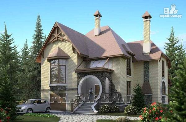 Фото: проект «Серебряный век» - загородный дом с элементами арт-нуво