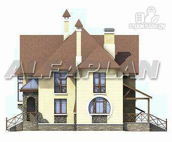 Фото 9: проект «Серебряный век» - загородный дом с элементами арт-нуво