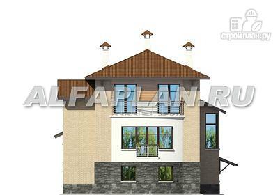 Фото 6: проект комфортабельный дом с компактным планом для небольшого участка