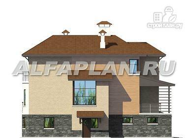 Фото 8: проект комфортабельный дом с компактным планом для небольшого участка