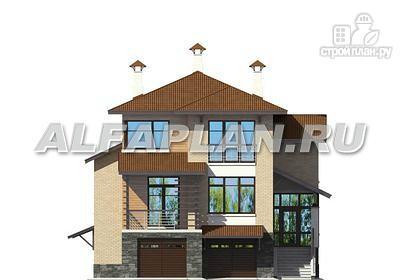 Фото 5: проект комфортабельный дом с компактным планом для небольшого участка