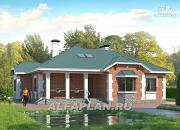 """Проект """"Светлая жизнь"""" - одноэтажный дом с бильядной в мансарде"""