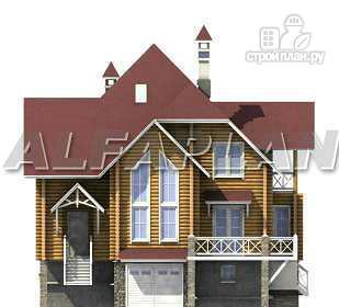 Фото 8: проект «Транк Хаус» - деревянный дом с террасой