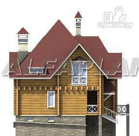 Фото 11: проект «Транк Хаус» - деревянный дом с террасой