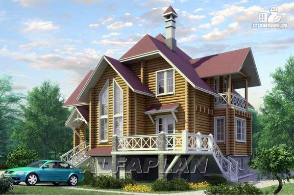 Фото: проект «Транк Хаус» - деревянный дом с террасой