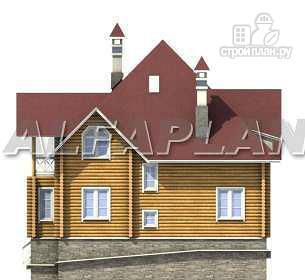 Фото 9: проект «Транк Хаус» - деревянный дом с террасой
