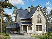 """Проект """"Оптима""""- красивый дом для загородного отдыха"""