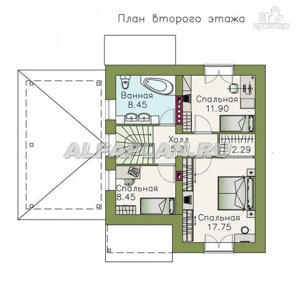 """Фото 3: проект """"Оптима""""- красивый дом для загородного отдыха"""