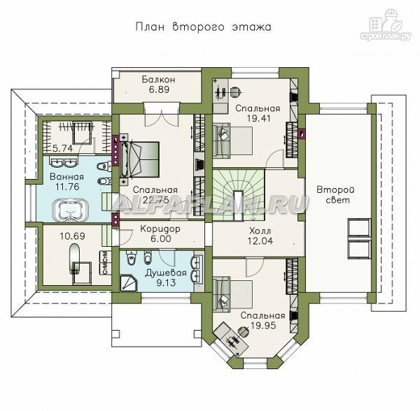 """Фото 4: проект """"Последний герой"""" - особняк с двусветной гостиной"""